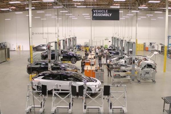 前乐视创始人旗下法拉第FF,未来FF91量产版本亮相美国豪车节