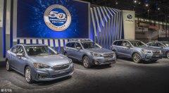 芝加哥车展:斯巴鲁50周年特别版发布