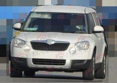 今年9月量产 国产斯柯达YETI车型曝光