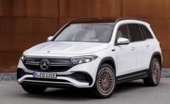 2021慕尼黑车展:奔驰全新EQB欧洲首发